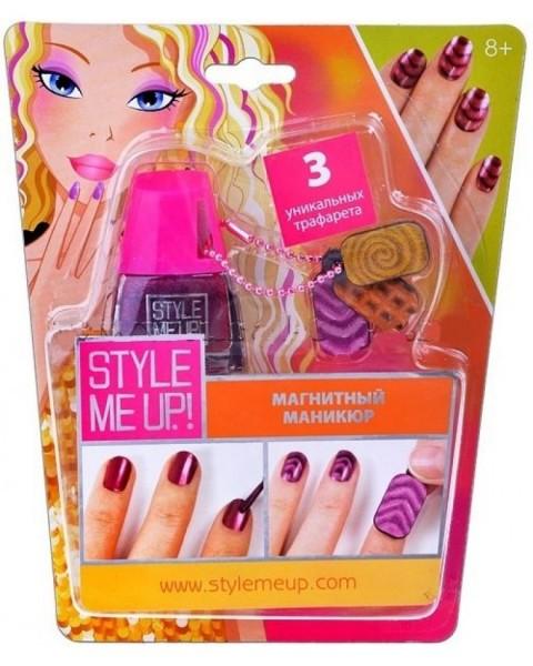Купить Набор для творчества Style Me Up Магнитный маникюр - розовый в интернет магазине игрушек и детских товаров