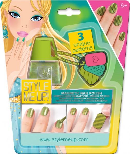 Набор для творчества Style Me Up Магнитный маникюр - зеленый