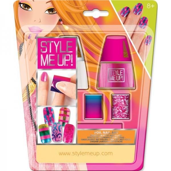 Малый набор для творчества Style Me Up Голливудский маникюр (розовый)