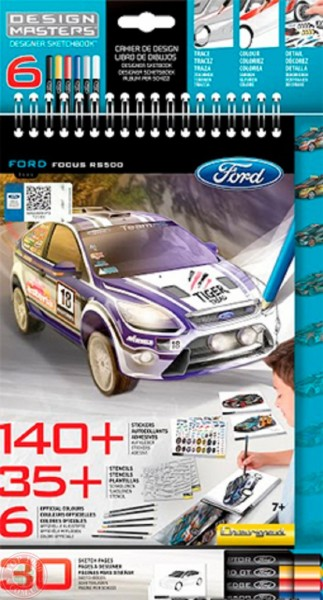 Блокнот Design Masters Ford Focus RS500
