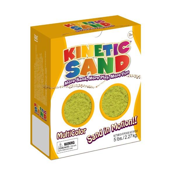 Песок Kinetic Sand Желтый - 2,27 кг (Waba Fun)