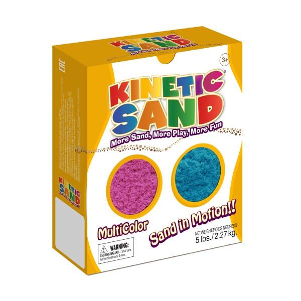Песок Kinetic Sand Фиолетовый-синий - 2,27 кг (Waba Fun)