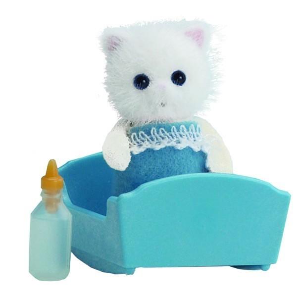 Купить Игровой набор Sylvanian Families Малыш персидский котенок в интернет магазине игрушек и детских товаров