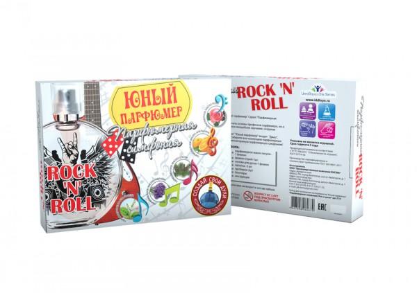 Купить Набор Юный парфюмер Парфюмерная симфония - рок-н-ролл (Инновации для детей) в интернет магазине игрушек и детских товаров