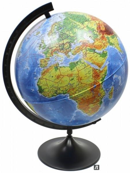 Глобус Земли Globen физический (серия Классик)