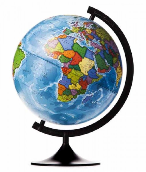 Глобус Земли Globen К013200016 политический (серия Классик)