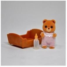 Купить Игровой набор Sylvanian Families Малыш мармеладный мишка в интернет магазине игрушек и детских товаров