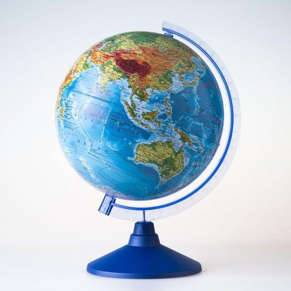 Глобус Земли Globen физический (серия Евро)