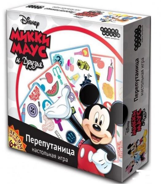 Настольная игра Hobby World Микки Маус - Перепутаница