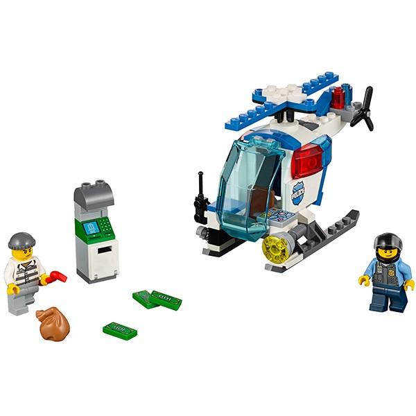 Конструктор Lego Juniors Лего Джуниорс Погоня на полицейском вертолете
