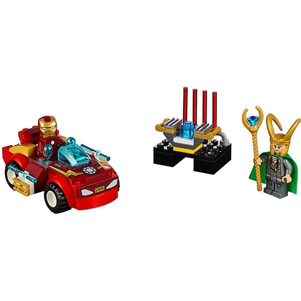 Купить Конструктор Lego Juniors Лего Джуниорс Железный человек против Локи в интернет магазине игрушек и детских товаров