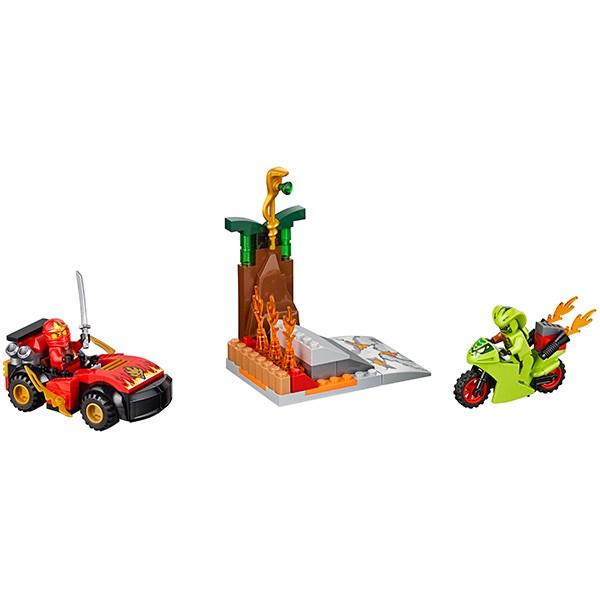 Купить Конструктор Lego Juniors Лего Джуниорс Схватка со змеями в интернет магазине игрушек и детских товаров