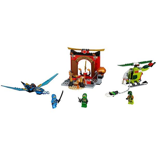 Купить Конструктор Lego Juniors Лего Джуниорс Затерянный храм в интернет магазине игрушек и детских товаров