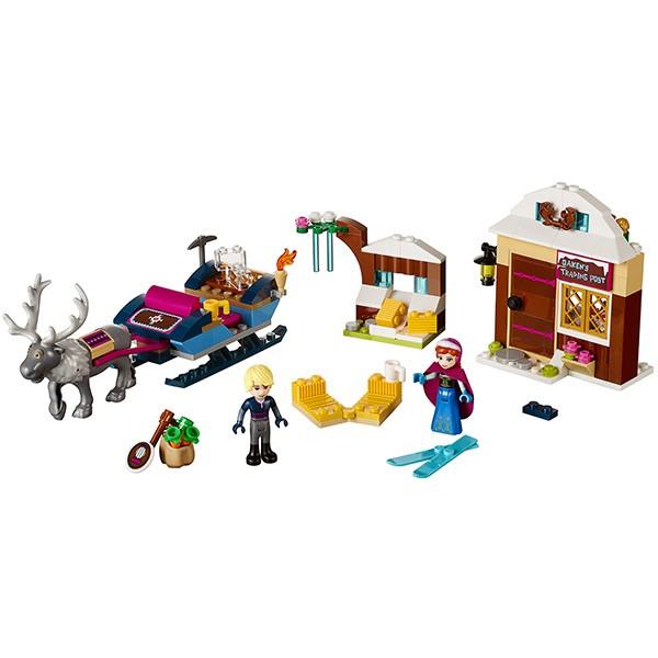 Конструктор Lego Disney Princesses Лего Принцессы Дисней Анна и Кристоф - прогулка на санях