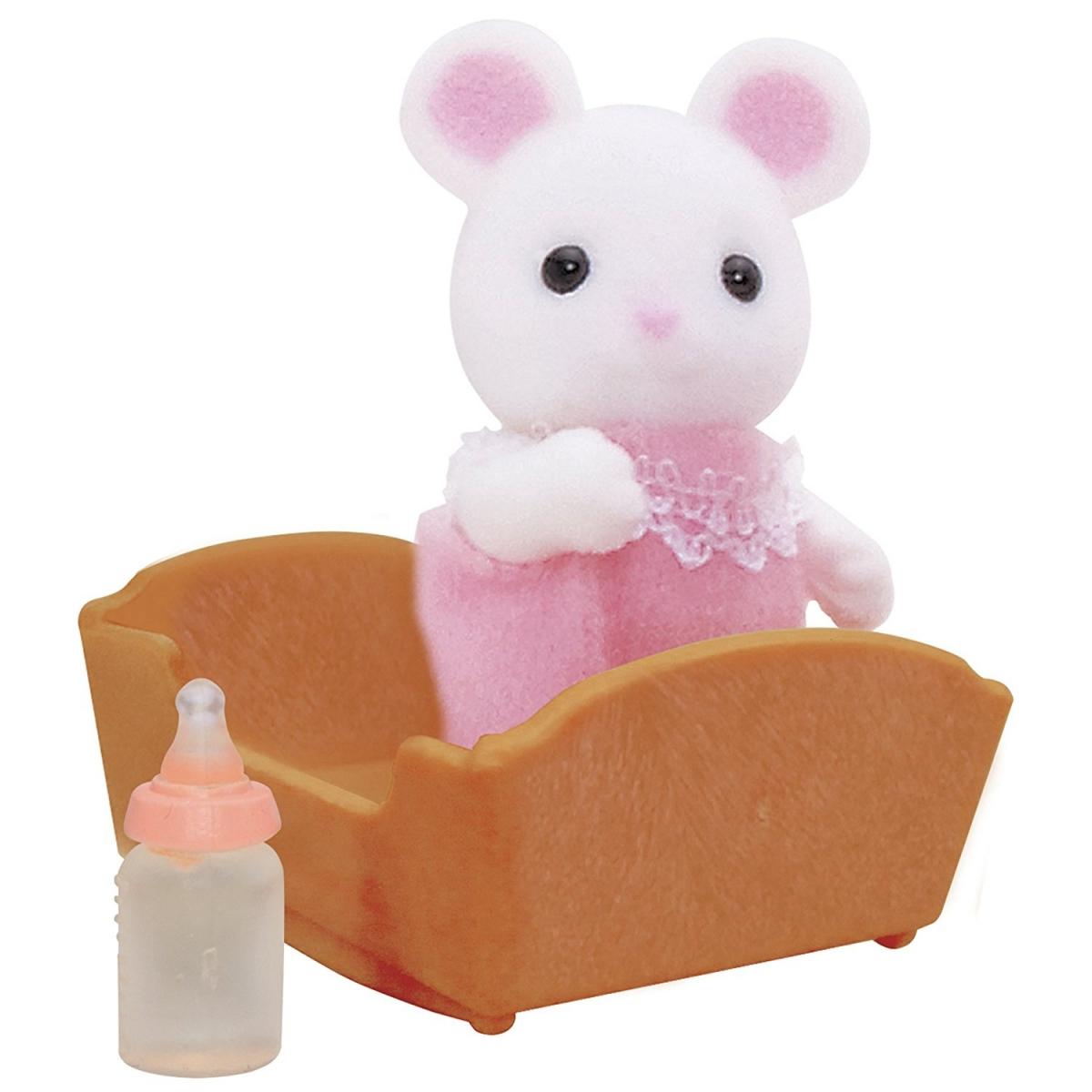 Игровой набор Sylvanian Families 3420 Малыш Белый мышонок