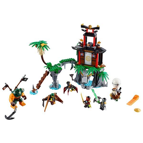 Купить Конструктор Lego Ninjago Лего Ниндзяго Остров тигриных вдов в интернет магазине игрушек и детских товаров