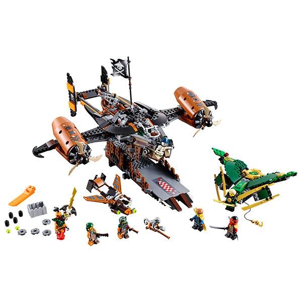 Купить Конструктор Lego Ninjago Лего Ниндзяго Цитадель несчастий в интернет магазине игрушек и детских товаров
