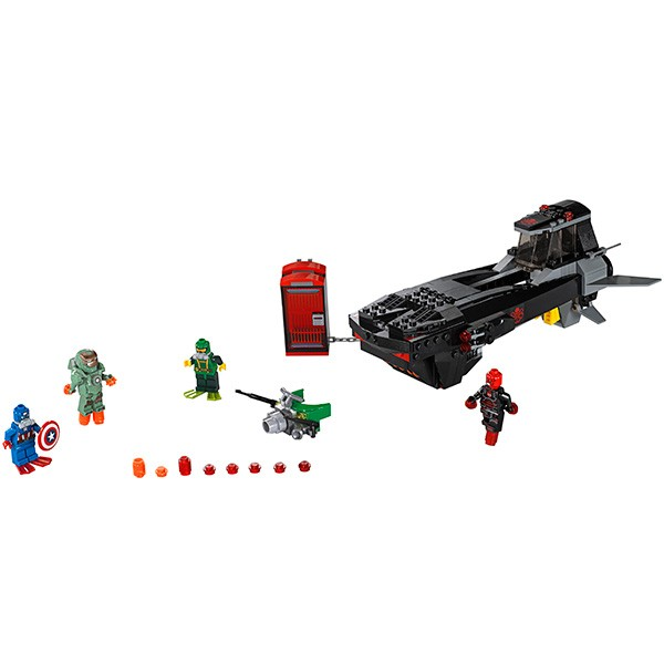 Конструктор Lego 76048 Super Heroes Супер Герои Похищение Капитана Америка