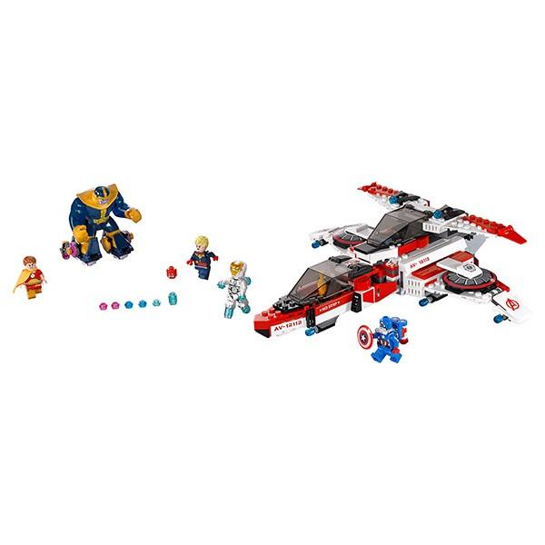 Конструктор Lego 76049 Super Heroes Супер Герои Реактивный самолет Мстителей - космическая миссия
