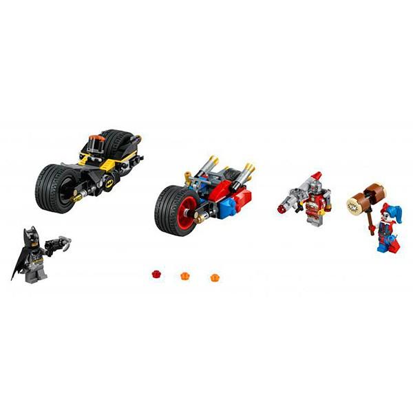 Конструктор Lego 76053 Super Heroes Супер Герои Бэтман Погоня на мотоциклах по Готэм-сити