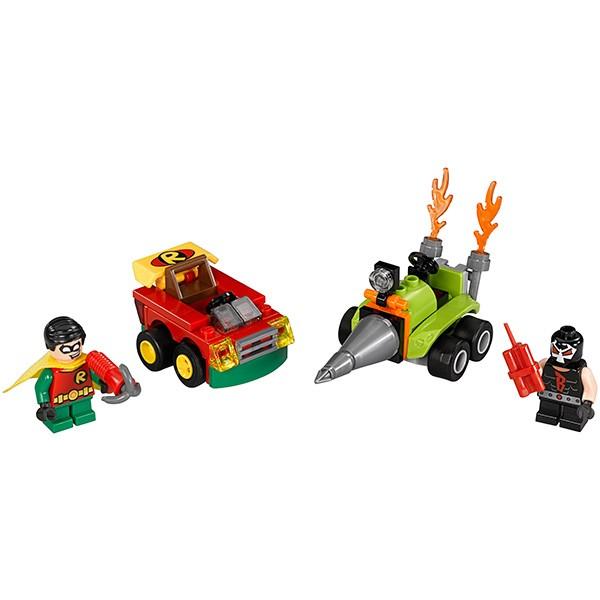Конструктор Lego 76062 Super Heroes Супер Герои Робин против Бэйна