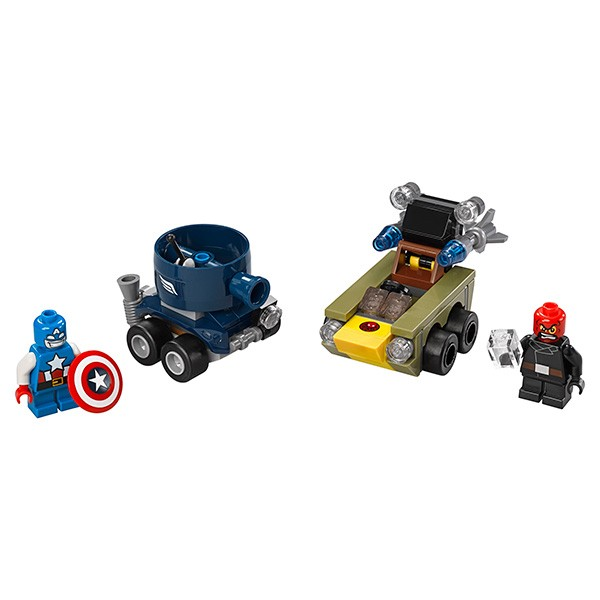 Конструктор Lego 76065 Super Heroes Супер Герои Капитан Америка против Красного Черепа