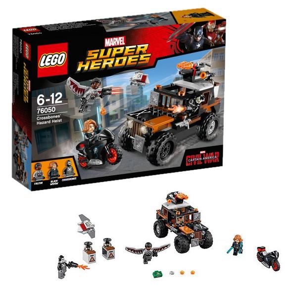 Конструктор Lego Super Heroes Супер Герои Опасное ограбление