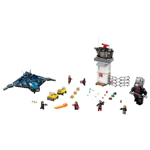 Конструктор Lego 76051 Super Heroes Супер Герои Сражение в аэропорту
