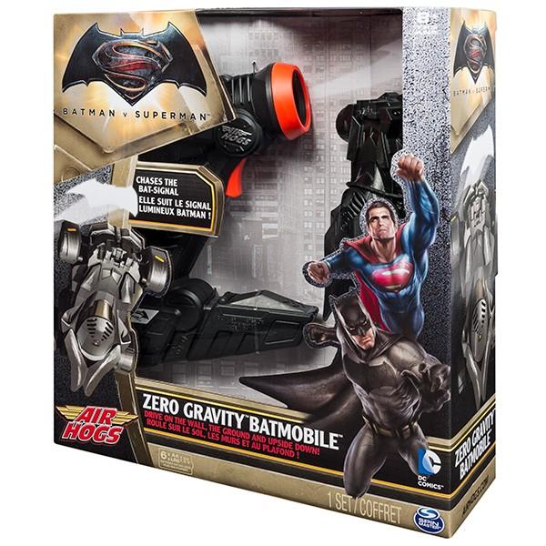 Купить Радиоуправляемая игрушка Air Hogs Бэтмобиль, следующий за лучом (стены, потолок) в интернет магазине игрушек и детских товаров