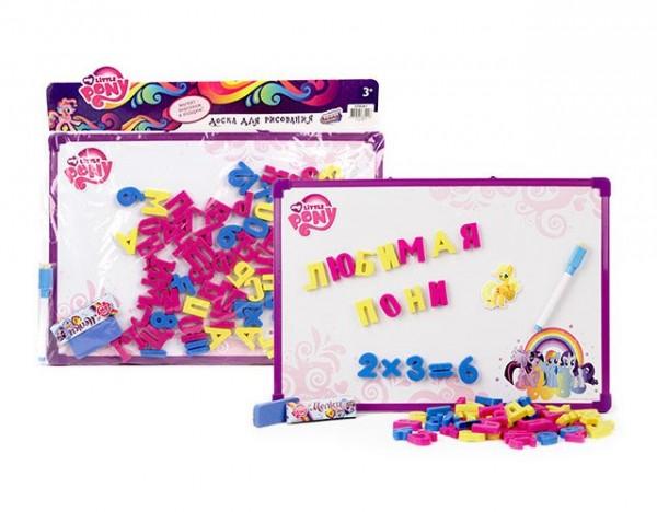 Купить Доска для рисования My Little Pony с магнитами (Hasbro) в интернет магазине игрушек и детских товаров