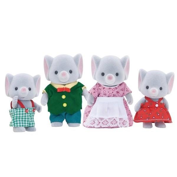 Купить Игровой набор Sylvanian Families Семья слонов в интернет магазине игрушек и детских товаров