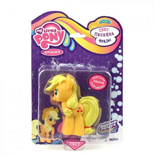 Игровой набор My Little Pony ЭпплДжек Applejack со светом и звуком (Hasbro)