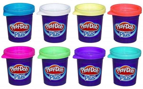 Набор пластилина Play-Doh из 8 банок (HASBRO)