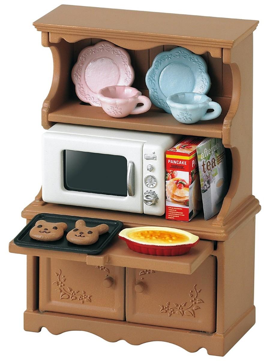 Игровой набор Sylvanian Families 3561 Буфет с микроволновой печью