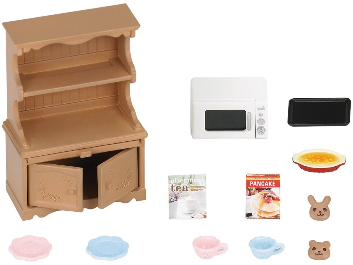 Игровой набор Sylvanian Families Буфет с микроволновой печью