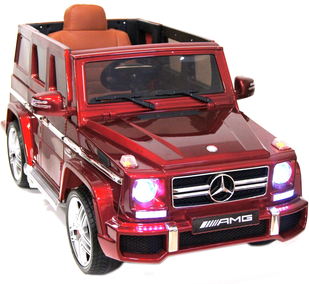Электромобиль River Toys Mercedes-Benz G63 AMG с дистанционным управлением - Глянец