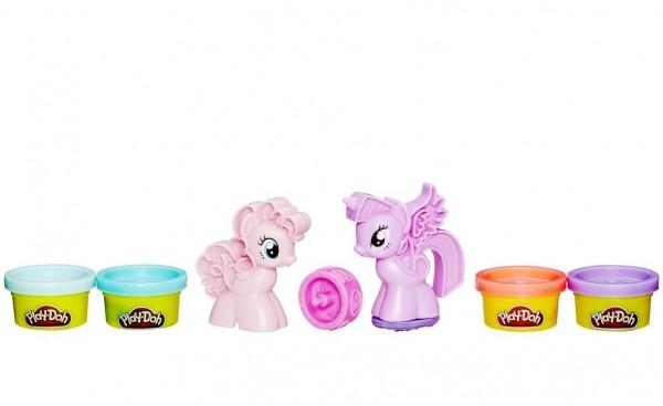 Набор пластилина Play-Doh Пони Знаки Отличия (Hasbro)