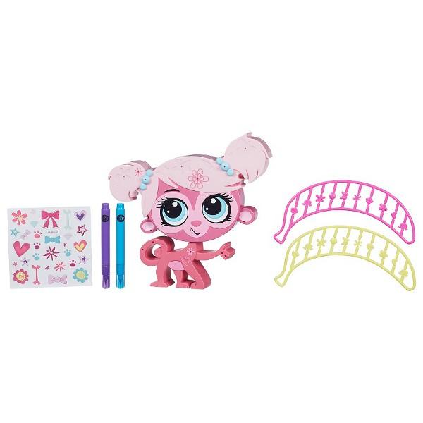 Игровой набор Littlest Pet Shop Укрась зверюшку (Hasbro)