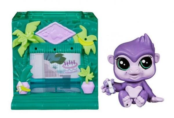 Игровой набор Littlest Pet Shop Тематический набор - зеленый (Hasbro)