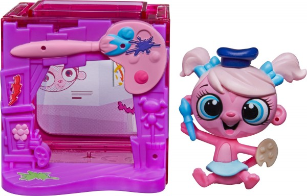 Купить Игровой набор Littlest Pet Shop Тематический набор - розовый (Hasbro) в интернет магазине игрушек и детских товаров