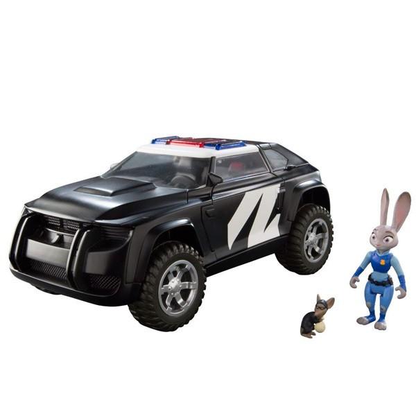 Игровой набор Zootropolis Джип, Джуди и Хорьковиц (с автомобилем)