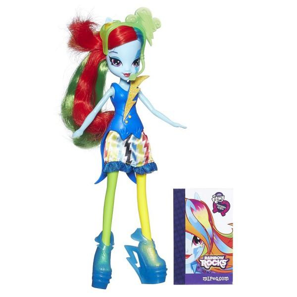 Купить Кукла My Little Pony Equestria Girls Рейнбоу Дэш Rainbow Dash (Hasbro) в интернет магазине игрушек и детских товаров