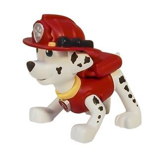Маленькая фигурка щенка Paw Patrol Щенячий патруль Маршал