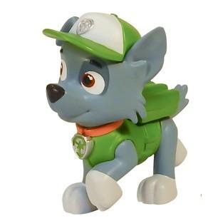Маленькая фигурка щенка Paw Patrol Щенячий патруль Рокки