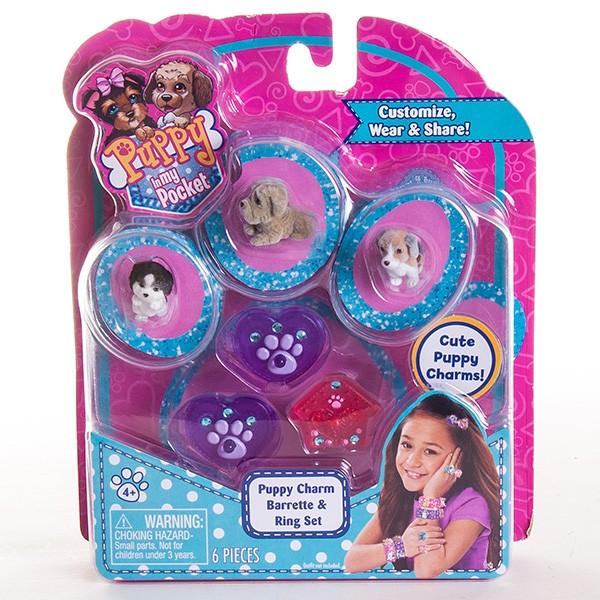 Игровой набор Puppy In My Pocket Украшения со щенками