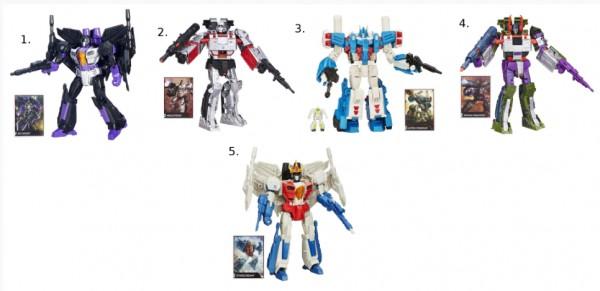 Игровой набор Transformers Дженерэйшнс Дэлюкс Generation Deluxe (Hasbro)