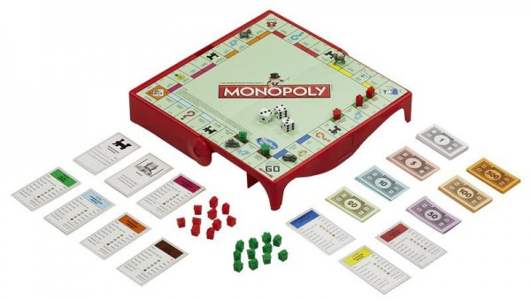 Дорожная настольная игра Hasbro Games Монополия (обновленная)