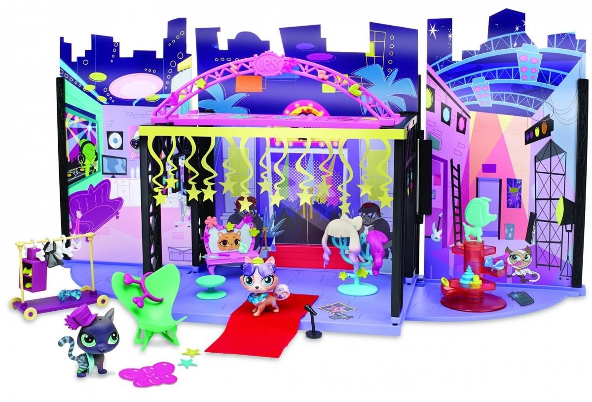 Игровой набор Littlest Pet Shop За кулисами (Hasbro)