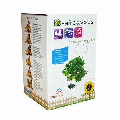 Купить Набор Юный садовод Вырасти петрушку в интернет магазине игрушек и детских товаров