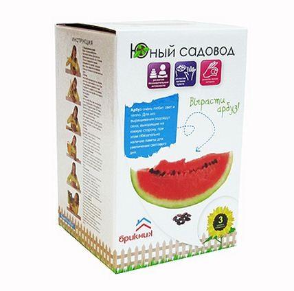Купить Набор Юный садовод Вырасти арбуз в интернет магазине игрушек и детских товаров